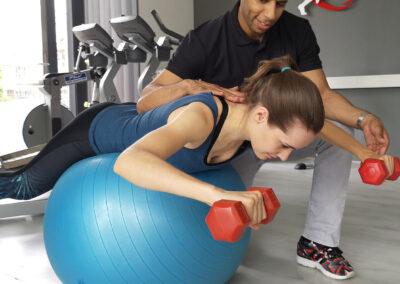Naar de fysiotherapeut